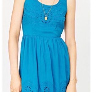 Urban outfitters fit and flare dress